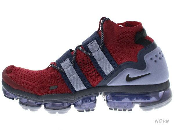 メンズ靴, スニーカー NIKE AIR VAPORMAX FK UTILITY ah6834-600 team redblack-obsidian