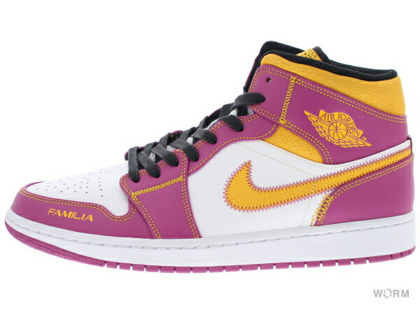 メンズ靴, スニーカー AIR JORDAN 1 MID DOD dc0350-100 whiteuniversity gold