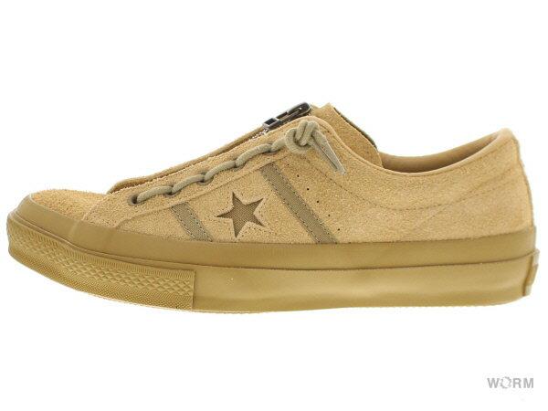メンズ靴, スニーカー CONVERSE STARBARS CENTERZIP SUEDE OX 1cl753 coyote