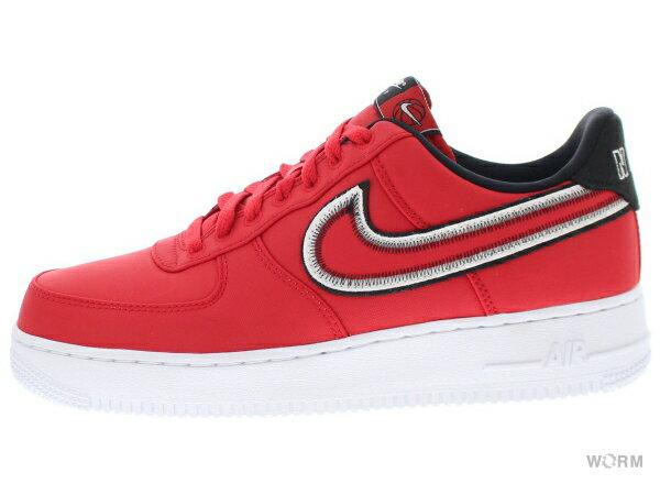 メンズ靴, スニーカー NIKE AIR FORCE 1 07 LV8 1 cd0886-600 university redblack-white