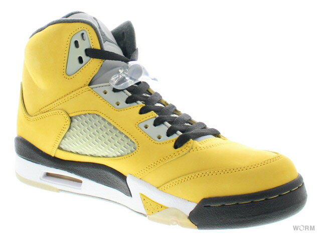 【US9】AIR JORDAN 5 RETRO T23 454783-701 vrsty mz/anthrct-wlf gry-blk エア  ジョーダン 5 未使用品【中古】