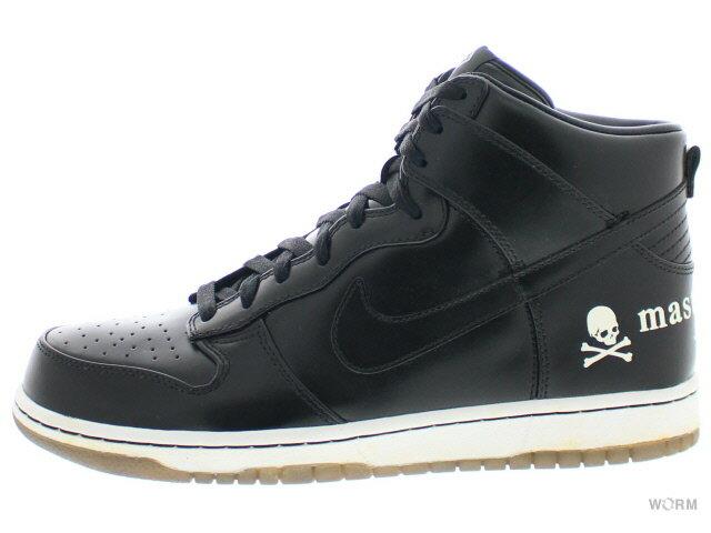 メンズ靴, スニーカー NIKE DUNK PRM HI MMJ NRG mastermind JAPAN 583221-090 blackblack
