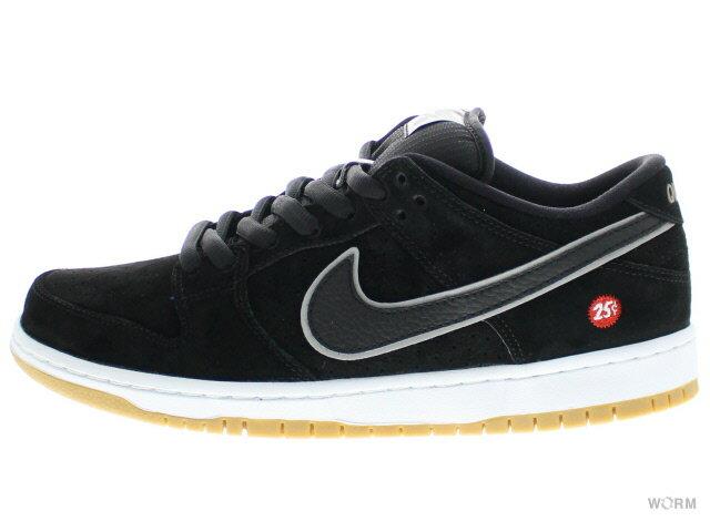 メンズ靴, スニーカー NIKE SB DUNK LOW PREMIUM SB QUARTERSNACKS 313170-019 blackblack-reflect silver
