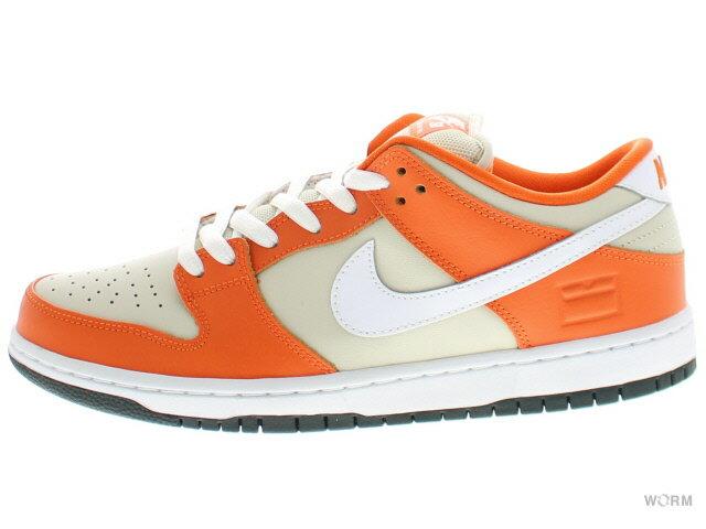 メンズ靴, スニーカー NIKE SB DUNK LOW PREMIUM SB ORANGE BOX 313170-811 safety orangewhite-cream