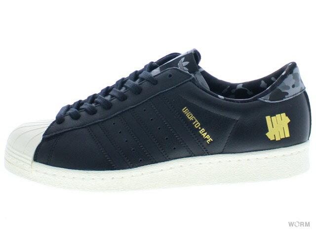 メンズ靴, スニーカー adidas SUPERSTAR 80v - UNDFTDxBAP b34291 cblackcblackcwhite UNDEFEATED BAPE
