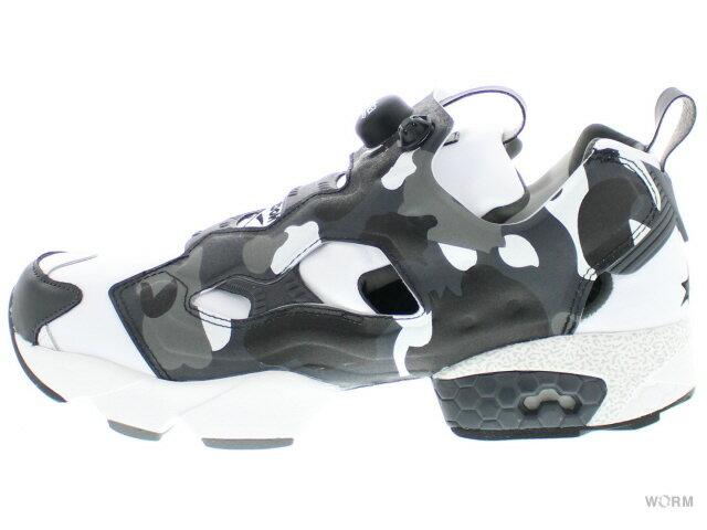 メンズ靴, スニーカー Reebok INSTAPUMP FURY MITA BAPE bd1355 whitemedeim greyblack