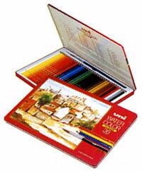 """Mitsubishi pencil ' watercolor pencil unicolor water 36 color set ( UWC36C ) """""""
