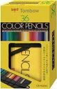 トンボ鉛筆 ロールケース入色鉛筆 36色 NQ CR-NQ3...
