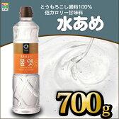 清浄園 水飴 700g 水あめ 甘味料 まろやかな味 チョンジョンウォン 韓国調味料 韓国食品