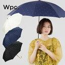 【Wpc.公式】 遮光 ゴールドプチハート 【傘 日傘 長傘 晴雨兼用 レディース】