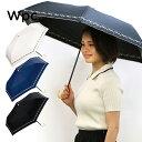 遮熱 遮光 傘 日傘 折りたたみ傘 晴雨兼用 レディース プチフラワー刺繍 mini