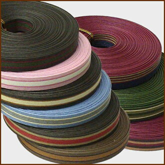 12 three colors of paper band (craft band) 10m stripe collecting