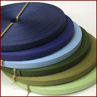 """Paper band (craft band) 50m """"blue green system"""""""