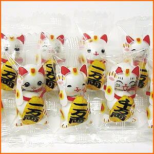ミニスイーツ☆ミニチョコ招き猫チョコ(500g大袋)