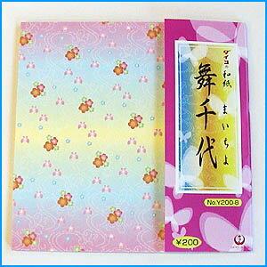和の折り紙『舞千代』4色調24枚入