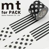 梱包用粘着テープ 幅広mt カモ井加工紙mt for PACK パターン(45mm×15m)MTPACK01