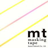 マスキングテープ mt カモ井加工紙 mt slim 3mm ネオングラデーション 3巻入りパック(3mm×10m)MTSLIMS08