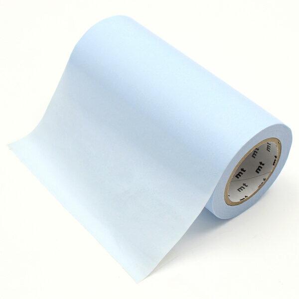 【クーポン配布中】マスキングテープ 幅広 mt カモ井加工紙mt CASA テープパステルブルー(100mmx10m)MTCA1097