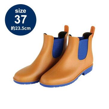 ブーツ レインブーツ 長靴 SPICE スパイス ワンダーサイドゴアブーツ キャメル 23.5cm JSGN2037CA