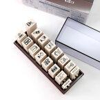 コラボスタンプ SANBY サンビー エンドレススタンプ 16本セット ericラベル ES-ERIC1 手帳 スケジュール はんこ おしゃれ かわいい