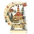 クリスマスディスプレイウッドコレクションチャーチスクエア81769