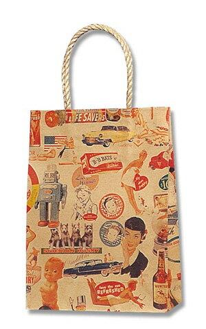 紙袋 手提げ HEIKO シモジマ スムースバッグ 18-07 キスミー(25枚入り) ラッピング