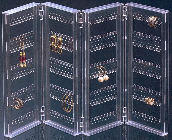 アクリル製イヤリング・ピアス収納ケース イヤリングスクリーン