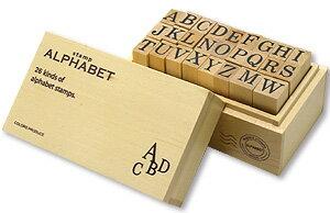 ウッドボックススタンプ 1003252-03 アルファベットL
