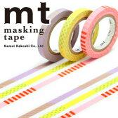 マスキングテープ mt カモ井加工紙 MTSLIM16 mt slim deco A 3p (6mmx10m)