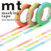 マスキングテープ mt カモ井加工紙 MTSLIM20 mt slim deco E 3p (6mmx10m)