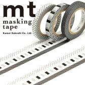 マスキングテープ mt カモ井加工紙 MTSLIM21 mt slim deco F 3p (6mmx10m)