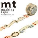 【マラソン限定!ポイント10倍!】【カモ井加工紙】マスキングテープ mt fab 型抜きテープ 1p リボン(20mmx3m ミニ紙管)MTKT1P02