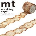 【マラソン限定!ポイント10倍!】【カモ井加工紙】マスキングテープ mt fab 型抜きテープ 1p レース(32mmx3m ミニ紙管)MTKT1P03