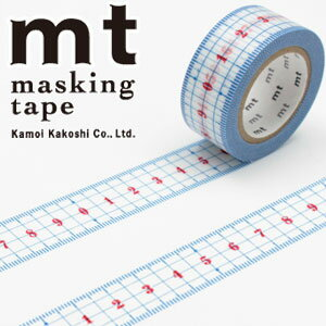 【カモ井加工紙】マスキングテープ mt ex 定規(20mmx10m)MTEX1P96