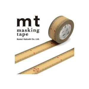 【カモ井加工紙】マスキングテープ mt ex 竹定規(20mmx10m)MTEX1P97