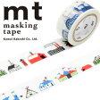 マスキングテープ mt カモ井加工紙 mt × エド・エンバリー building(20mmx7m)MTEDEM02・1巻
