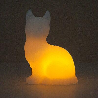 3150円以上で送料無料!(沖縄県をのぞく)動物の形をしたロウの中にLEDキャンドルを内蔵!ロウを...