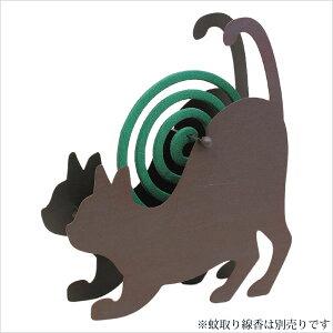 【SPICE/スパイス】アイアン蚊遣り(蚊取り線香ホルダー) キャット CELT4100