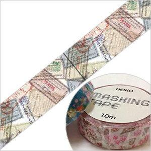 3240円以上で送料無料!(沖縄県をのぞく)HEIKOオリジナル柄のマスキングテープです♪シモジマ ...