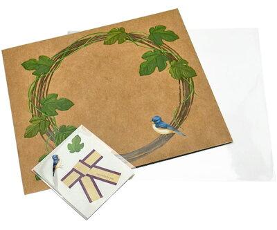 3240円以上で送料無料!(沖縄県をのぞく)Botanical petalを貼るための色紙です♪エンボスのよう...