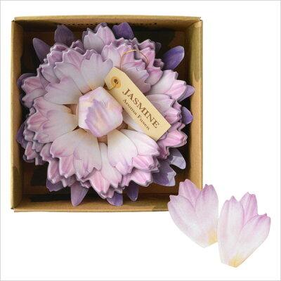 3240円以上で送料無料!(沖縄県をのぞく)アロマが香る花型ふせん♪美しいデザインはギフトにも...