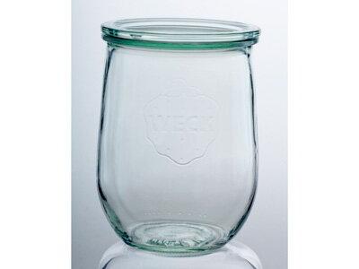 【クーポン配布中】WECK ウェックWECKキャニスター ガラス瓶 チューリップ 容量1000ml 85633 Tulip 1000