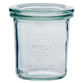 ポイント10倍!【WECK/ウェック】WECKキャニスター ガラス瓶 モールドシェイプ 容量140ml 85636 Mold Shape 140