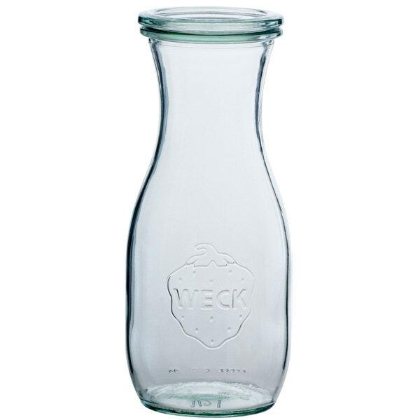 【クーポン配布中】WECK ウェックWECKキャニスター ガラス瓶 ボトル 容量530ml 85640 Bottle 530