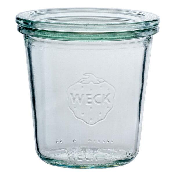 WECK ウェックWECKキャニスター ガラス瓶 モールドシェイプ 容量290ml85623 Mold Shape 290