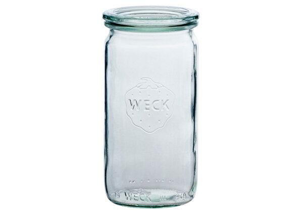 WECK ウェックWECKキャニスター ガラス瓶 ストレート 容量340ml 85625 Straight 340