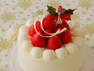 【 スポンジケーキ プレーン 冷凍 15cm 】ケーキ ホールケーキ 手作りケーキ