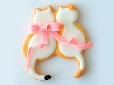 BIRKMANNクッキー型ペア猫