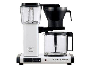 モカマスター コーヒーメーカー(メタリックホワイト) MM741AO-MW