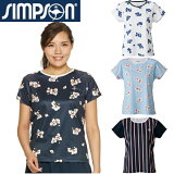 シンプソン(Simpson)テニスウェアレディースゲームシャツSTW-92100